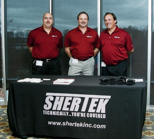 Glen, Scot and Steve, the SherTek guys